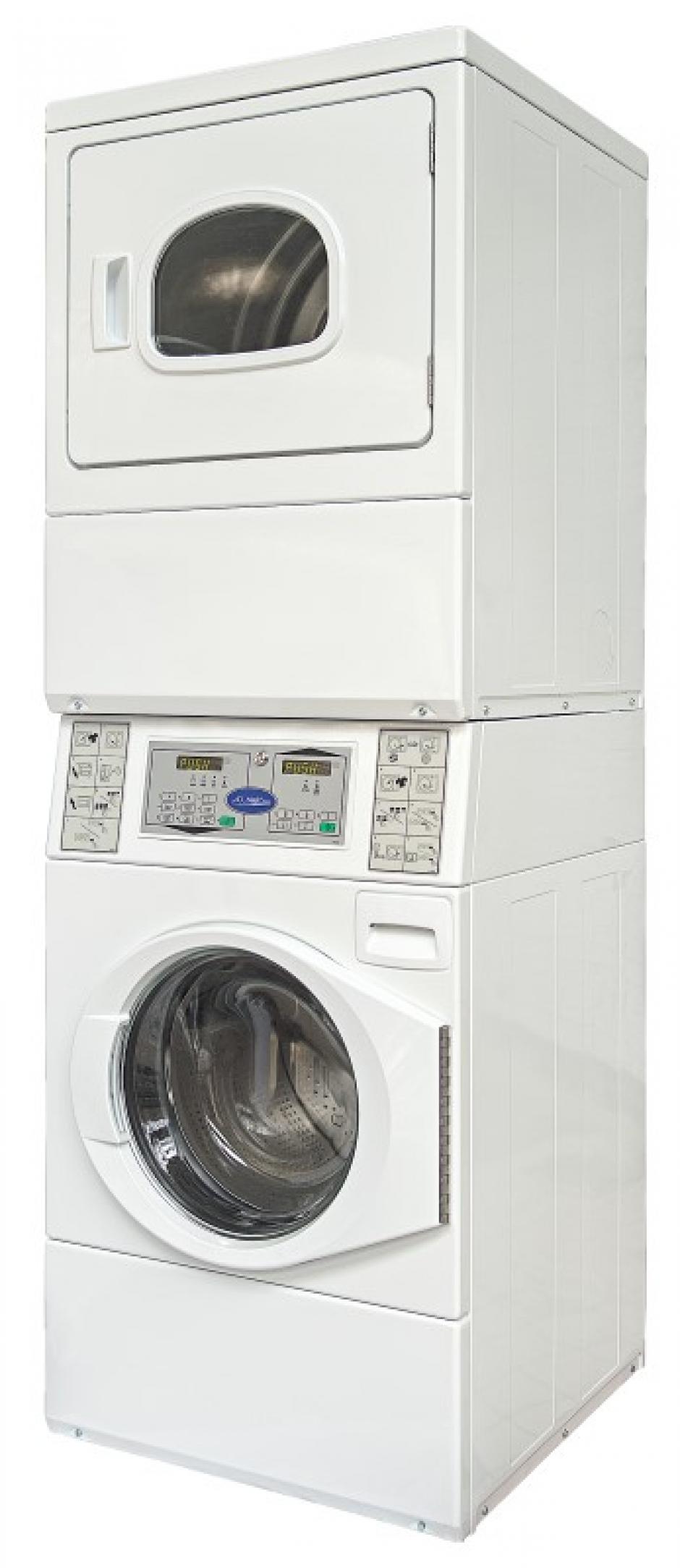 Avec un lave-linge et sèche-linge combiné, vous gagnez deux fois.